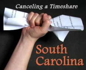 Canceling a Timeshare Contract in South Carolina